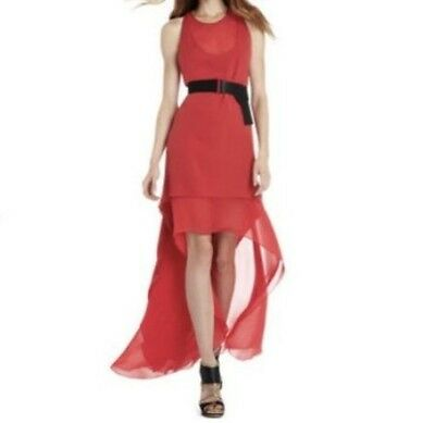 6bfdba0c4f7 New Bcbg Max Azria Runway Rouge The Rasha Sleeveless Pmx6V393 l36 Gown Size  Xxs