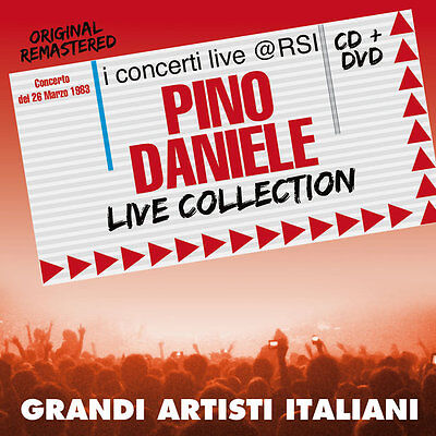 "Pino Daniele  ""Live Collection@Rsi""  (Cd+Dvd)"