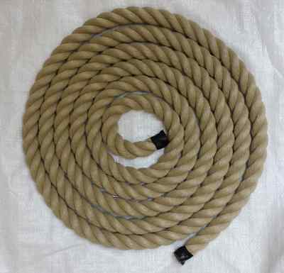 50 mts x 24mm thick for garden decking rope, synthetic hemp, poly hemp, hempex