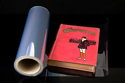EASYFOLD BOOK FILM covering hardbacks 100 mic polyester - 500mm x 25m roll