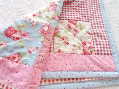 Patchwork Quilting Kit Cath Kidston Fabrics ALL INCLUDED Gorgeous & Handmade!
