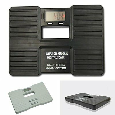 Electronic Digital Portable Personal Bathroom Body Fat Weight Scale 330lb/150kg