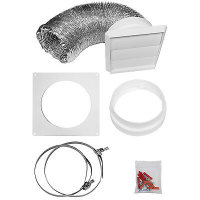 MyAppliances REF00820 125mm Universal Cooker Hood Extraction Vent / Duct Kit