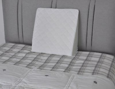 Multi Purpose Orthopaedic BED WEDGE Pillow  Dual Foam Back Support Aid