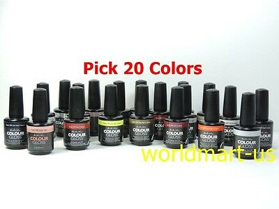 Artistic Nail Design Colour Gloss Soak Off Gel : 20 Colors * Choose Any Color *
