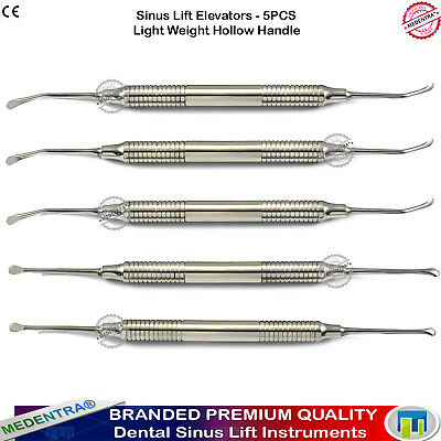Dental Implants Oral Surgery Sinus Lift Elevators Curettes Implantology Tools CE