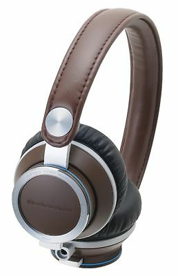 Audio Technica Portable Headphones ATH-RE700-BW (Brown)
