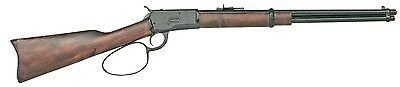 Denix Old West M1892 Replica Blued Finish Loop Lever Rifle Non-Firing