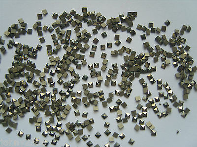 square marcasite loose stones form 1.2mm up to 2.5mm