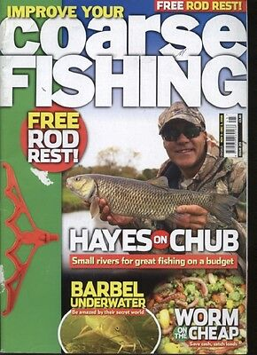 IMPROVE YOUR COARSE FISHING MAGAZINE - November/December 2008
