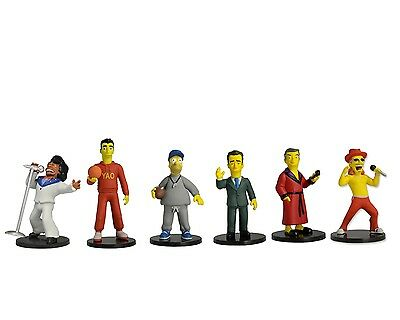 The Simpsons 25th Anniversary - 2 inch Figure Boxed Set - All 6 Figures - NECA