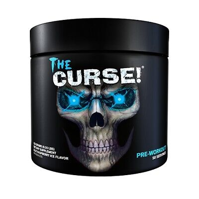 COBRA LABS THE CURSE Extreme Pre Workout Muscle Pump 50 Servings