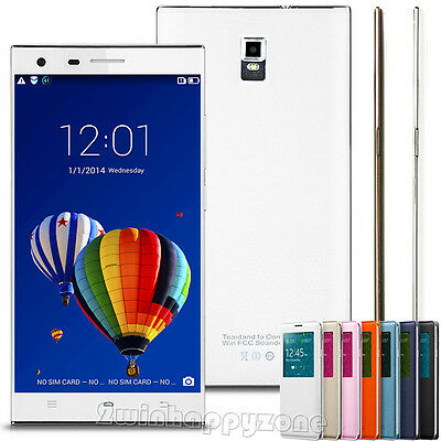 "5.5"" Android 2Core Dual Sim Unlocked Phone GPS AT&T 3G/GSM/WCDMA Smartphone"