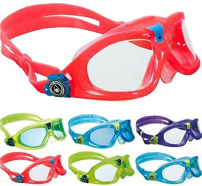 SEAL KIDS 2 II Junior Childrens Kids Childs Swimming Goggles Mask by Aqua Sphere