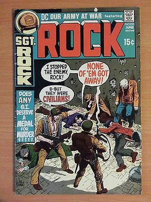 Our Army at War #233 Featuring Sgt Rock ~ FINE FN ~ 1971 DC COMICS