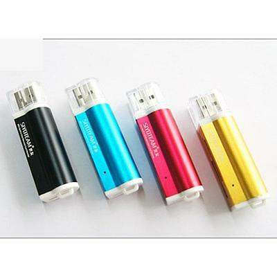 4 in1 USB 2.0 Multi Memory Card Reader Adapter  for Micro SD SDHC M2 MMC MS Duo
