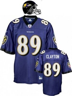 Maillot Foot américain nfl US RAVENS N°89 CLAYTON  Taille XL (us) -  2XL (fr)