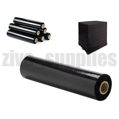 【BLACK PALLET WRAP】for Packing/Stretch/Cling/Shrink/Plastic/Wrapping/Film/Rap