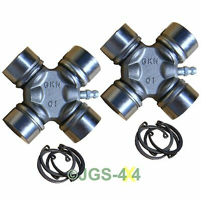 Land Rover Defender Discovery Propshaft Universal Joint Heavy Duty GKN UJ x2