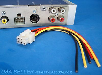 pioneer 12 pin 2x6 wire wiring harness deh 225 245 435