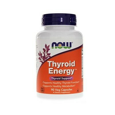 THYROID ENERGY, Thyroid Support, 90VCaps, NOW Foods, 24Hr Dispatch