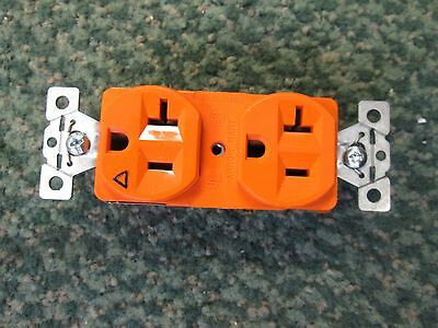Arrow Hart Duplex Receptacle AHIG5362 20A 125V 2P 3W *Lot of 4* New Surplus
