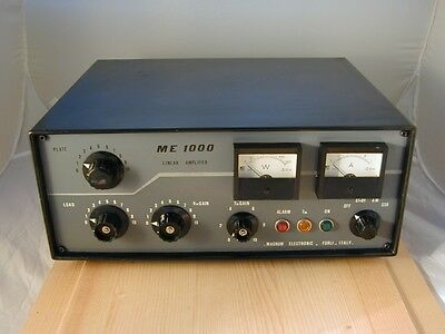 Amplificatore Radio Linear Amplifier ME 1000 Magnum Elect. Tube 25-32 MHz