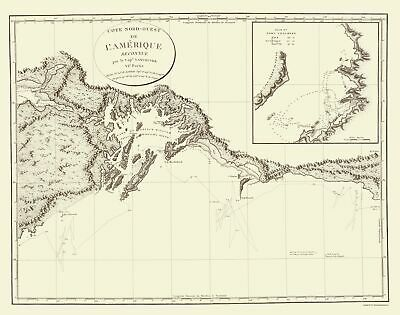 Old State Map - Prince William'S Sound Alaska - Vancouver 1800 - 23 x 29.21