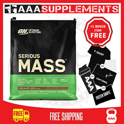 Optimum Nutrition Serious Mass 5.4Kgs Gain Protein Powder