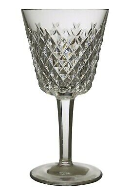 """WATERFORD Crystal - ALANA Cut - Claret Wine Glass / Glasses - 5 3/4"""""""