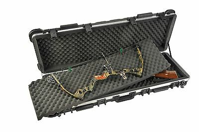 "SKB ATA 50"" Double Bow Case / Double Rifle Case 2SKB-5014 & Pelican 1910 light"