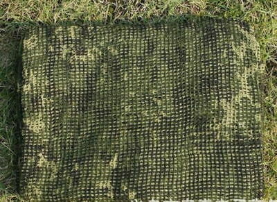 Tactical Scrim Net Commando Hunting Camouflage Face Veil Scarf Netting flecktarn