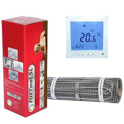 electric underfloor heating Sauna heater Bath Tile heating with Thermostat