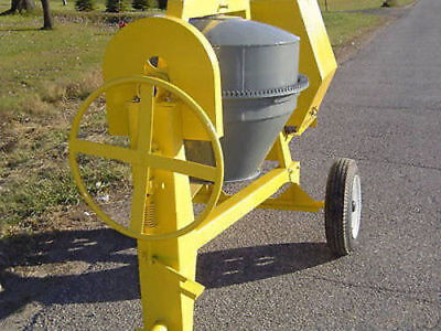 Bulldog 8CF concrete cement mixer Diesel Engine Towable