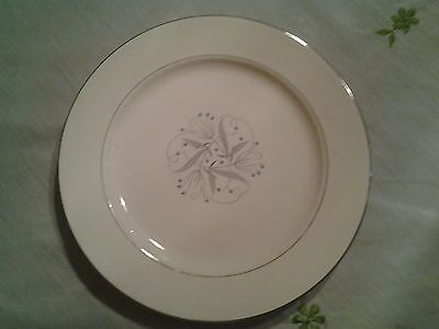 "Homer Laughlin Celeste 10.5"" Dinner Plate (3 Plates)"