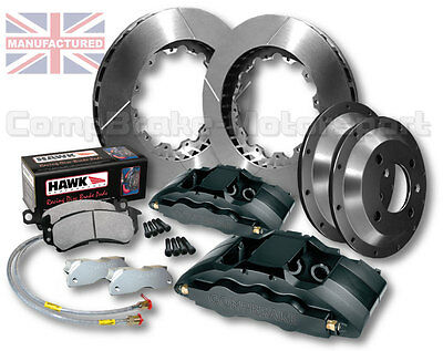 "ESCORT COSWORTH 4X4 18""WHEEL , 6 POT CALLIPERS 350x32mm BIG BRAKE KIT - CMB0429"