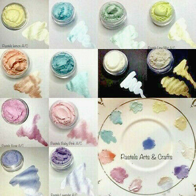 """The Colour Shack®  Pearl Mica Set """"PASTEL COLLECTION"""" ARTS & CRAFT ONLY"""