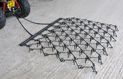 *Tractor Trailed Flexi Chain Harrows Various Sizes For Paddock Or Field Vat Inc*
