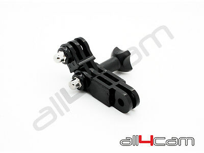 Camera Pivot Arm Mount Straight Extension Link fits GoPro Hero with Thumb Screw