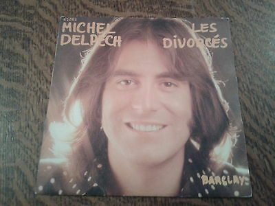 45 tours michel delpech les divorces
