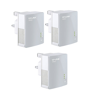 TP Link TL PA4010 500Mbps nano Powerline Ethernet Gaming adapter Home Plug X 3