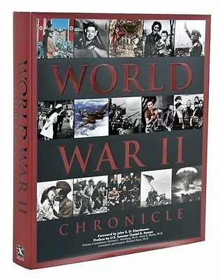 NEW BOOK World War II Chronicle Edition: First - Gerhard L. Weinberg