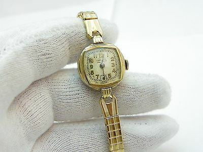 """HAFIS,17j Manual Wind,With """"Classic Single Register"""" GP Band,LADIES WATCH,1875"""
