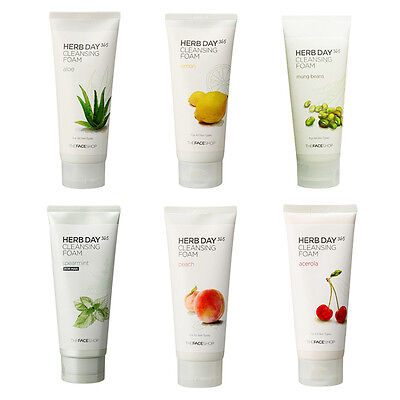 [THE FACE SHOP]  Herb Day 365 Cleansing Foam 170ml / Korea cosmetics