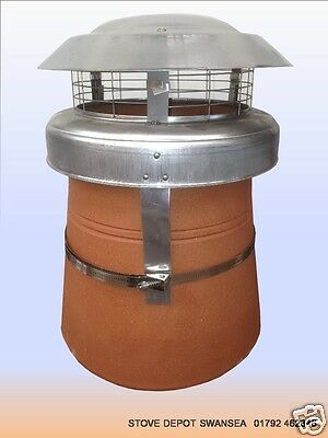 anti down draught Chimney Cowl ~ EXPRESS OR STANDARD DELIVERY OPTION ~