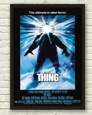 Classic John Carpenter's The Thing Horror Movie Film Poster Print Picture A3 A4