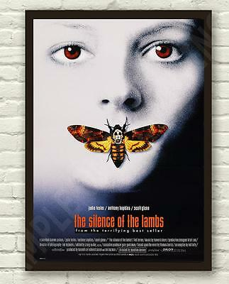 Silence Of The Lambs Hannibal Lecter Movie Film Poster Print Picture A3 A4