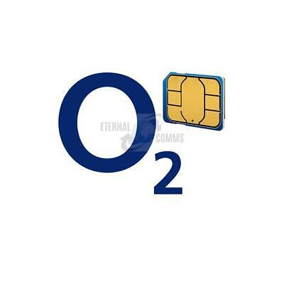New Sealed Payg O2 Nano Sim Card - Sent Same Day By 1St Class Post - Uk Seller