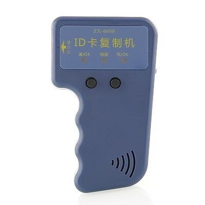 Portable 125Khz RFID Duplicator Copier Copy Writer for EM4100 T5577 Card Tag