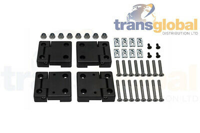 "Land Rover Series 2 & 2a 109"" LWB Front 'British' Parabolic 2 Leaf Springs"